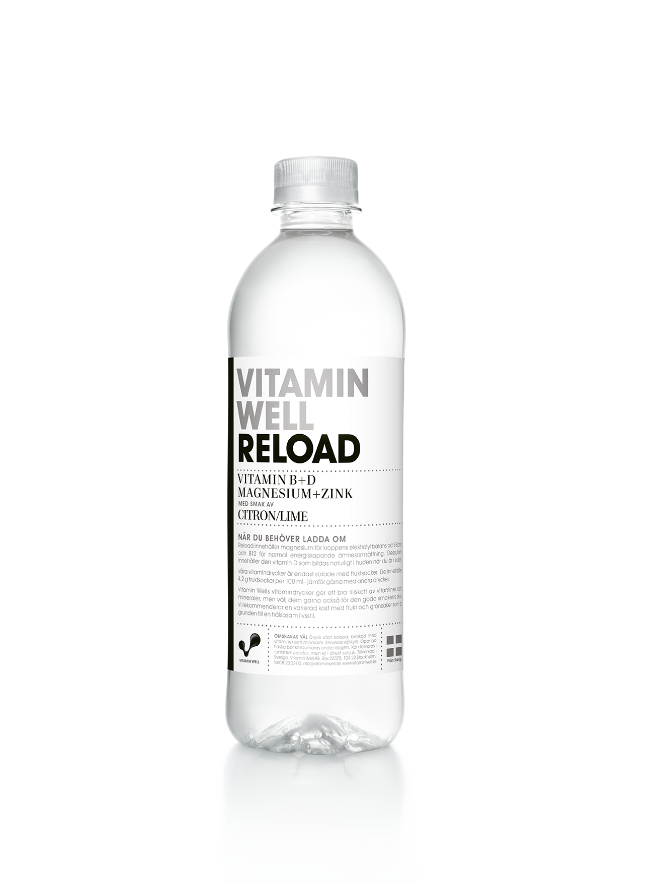 Vitamin Well Reload - 50 cl per flaska