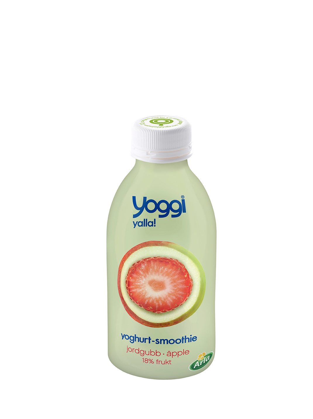 YOGGI®Yoghurt-Smoothie Jordgubb äpple 6x350 ml