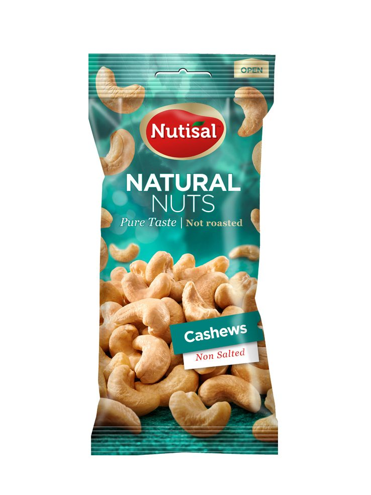 Nutisal Cashews Natural 14x60 gr