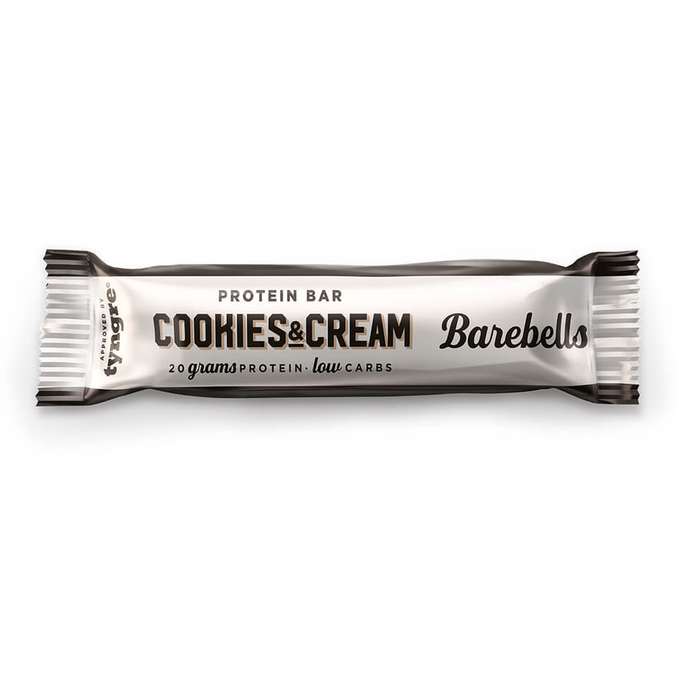 Barbells Proteinbar - Cookies & Cream 12x55 gr