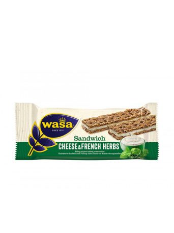 Sandwich Cream Cheese&French Herbs 24x30g Wasa