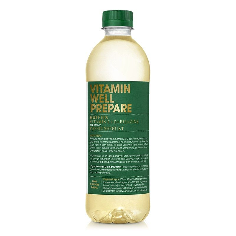 Vitamin Well PREPARE 12x50 cl