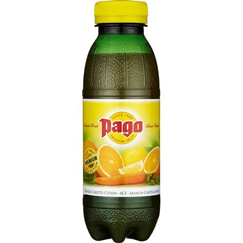 PAGO - Apelsin/Morot/Lime 12x33cl PET