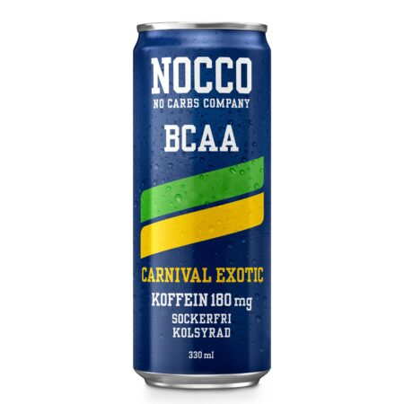NOCCO BCAA CARNIVAL 24x33CL