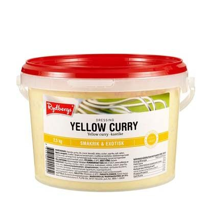YELLOW CURRYDRESSING Rydbergs (2,5 kg)