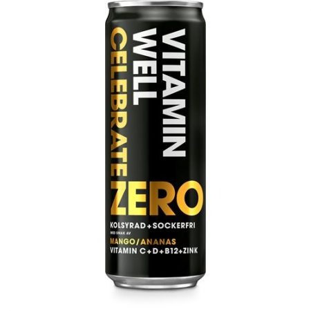 Vitamin Well Zero Celebrate 24x355ml