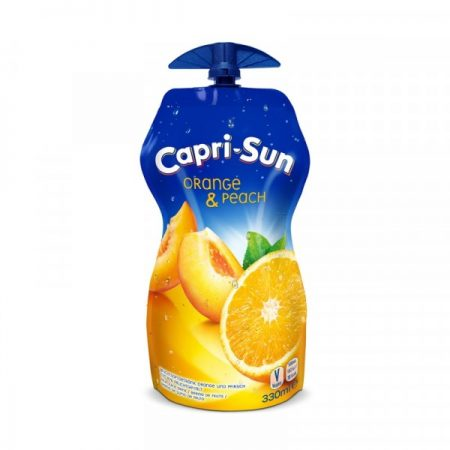 CAPRI-SUN ORANGE/PEACH 15X33CL