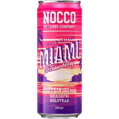 NOCCO BCAA MIAMI STRAWBERRY 24X33CL (6260)