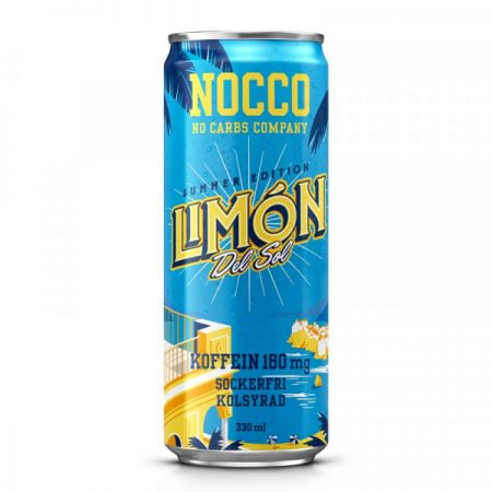 NOCCO SUMMER EDITION LIMON DEL SOL 24X33CL (6310)