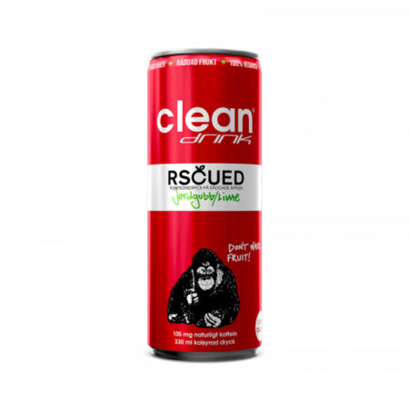CLEAN RSCUED JORDGUBB/LIME 24X33CL